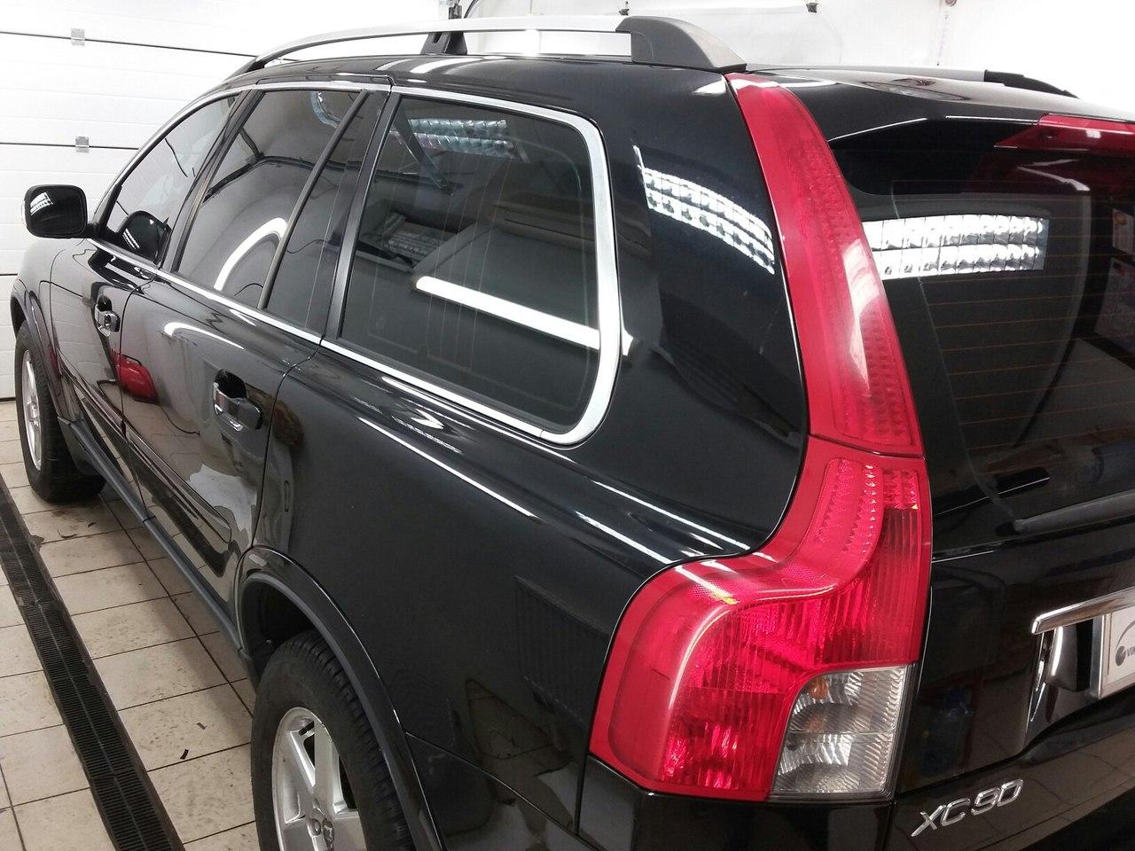 тонирование стекол Volvo xc90