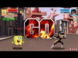 Spongebob Squarepants 2015 - Super Brawl 2 - Губка Боб Game for kids