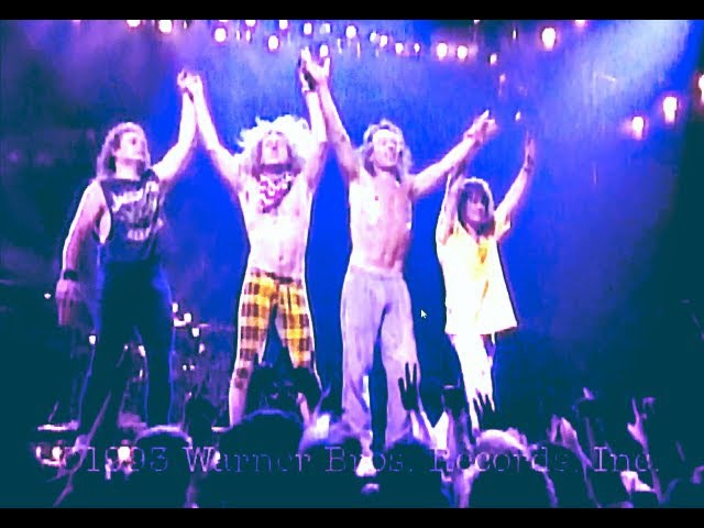 Van Halen - Right Here Right Now Concert (HD) - The (RAW) audio file link is in description