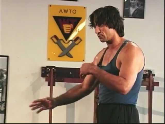 Emin Boztepe Wing Chun Abwehr gegen Messer und Stock Escrima Knife Defence