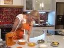 Творожный десерт с тыквой. Готовить здорово с Цептер Zepter 19.08.2011