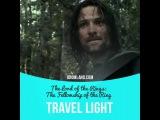 Идиомы в кино: Travel light (