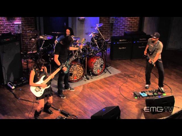 Tony MacAlpine and band perform Concrete Gardens live on EMGtv