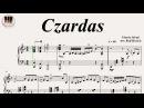 Czardas (Csárdás) - Vittorio Monti, Piano