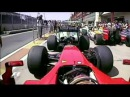 F1 Badoer tips Sutil at parc ferme 2009