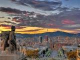 Каталонские ведьмы. Испания, Каталония  Цветы и горы