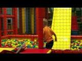 ★ Бассейн с разноцветными шариками Горка Лабиринт Slide and Pool with color balls