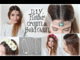 DIY Flower Crown &amp Head Piece! (Vanessa Hudgens GTL)