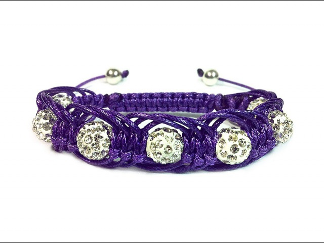DIY: Shambala macrame bracelet Arachne / Арахна макраме браслет шамбала