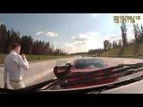 Владелец BMW M6 устроил разборки со скорой помощью на дороге в Москве