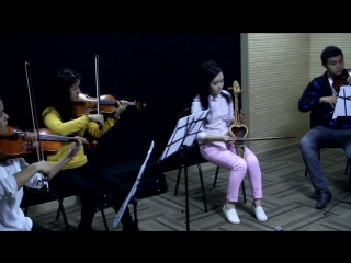 Акерке Тажибаева и струнный квартет