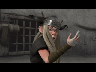 Драконы: Всадники Олуха / Драконы: Защитники Олуха 2 СЕЗОН - 5. Путешествие на остров Огневичков