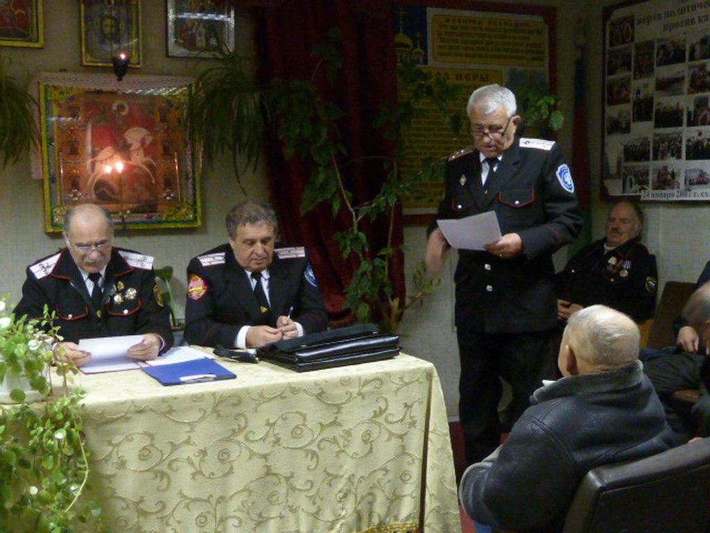 Атаман Зеленчукского станичного казачьего общества рассказал  о жизни казачества станицы Зеленчукской в 2015 году