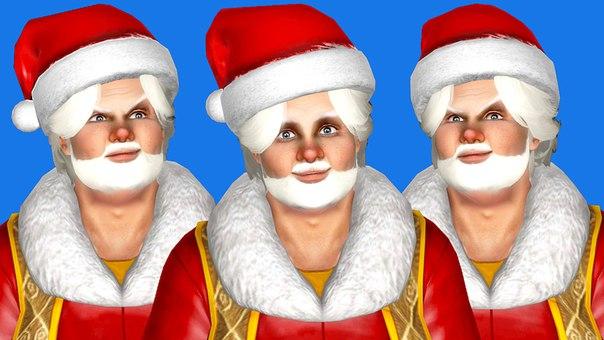 Игривый Санта