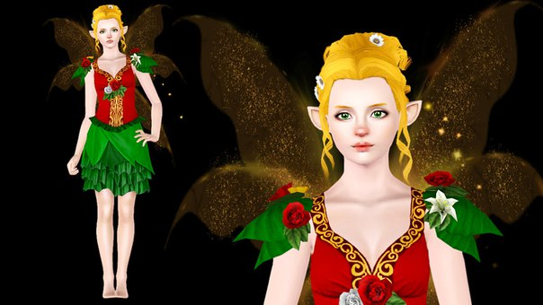 Chloe – Christmas Fairy