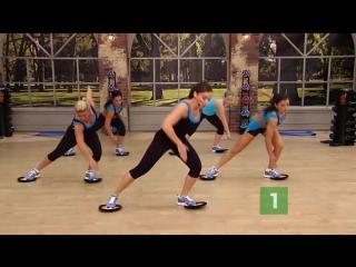 Cross Fire - Bonus 01 Low Impact Cardio Tabata - Cathe Friedrich