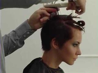 №2 Видео урок стрижка на короткие волосы , Video lesson hair cut short hair