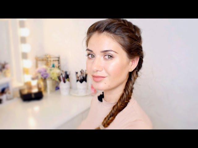 Коса «Рыбий хвост» на каждый день от Елены 864 – All Things Hair