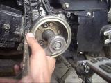 как открутить ротор генератора на мопеде альфа,дельта без съёмника