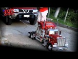 ПРИКОЛ  СУПЕР ИГРУШКА  Радиоуправляемый грузовик тянет Nissan