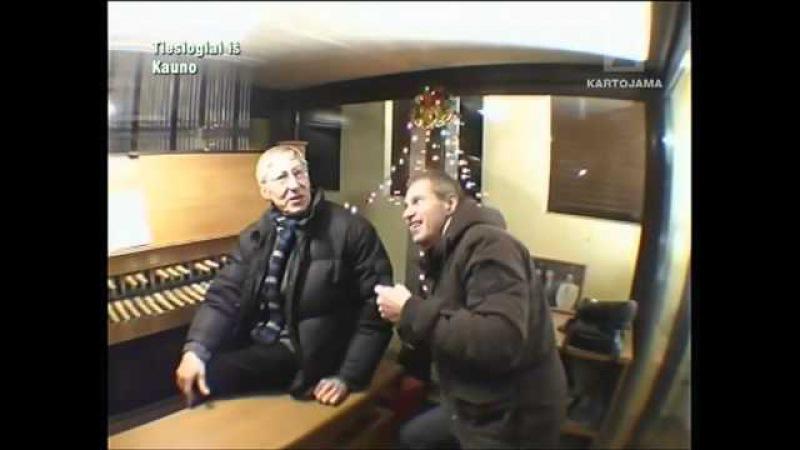 Kompozitorius Giedrius Kuprevičius pasakoja kaip suvaldyti karilioną