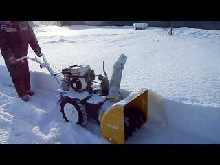 снегоуборщик сп56 на мотоблоке нева