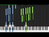 The Avengers Assemble - The Avengers Main Theme Piano Tutorial (Synthesia)