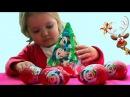 Мики Маус новогодний подарок с сюрпризом открываем игрушки Regalo de Navidad de Mickey Mouse