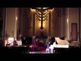 Бетховен - Лунная соната 1часть, для органа и фортепиано (Ночная репетиция)