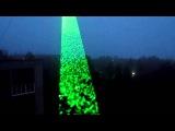 Мощнейшая зеленая лазерная указка