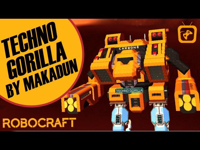 Robocraft - TECHO GORILLA by Makadun