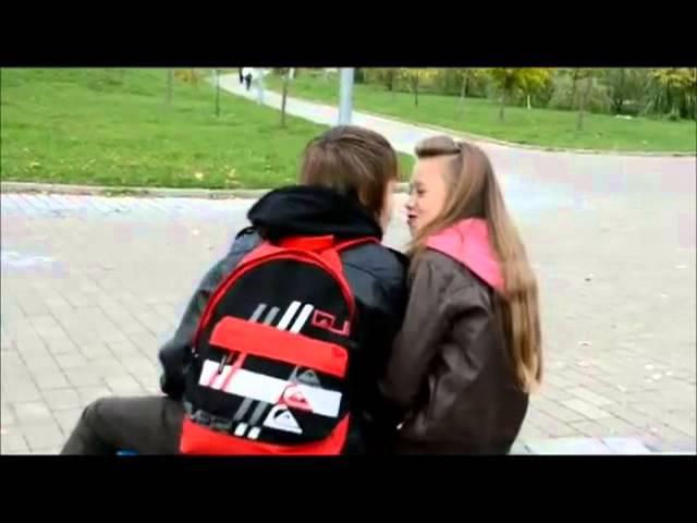 Любовь, в 12 лет Кристина и Даниил