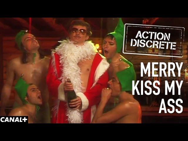 Merry Kiss My Ass Action Discrète
