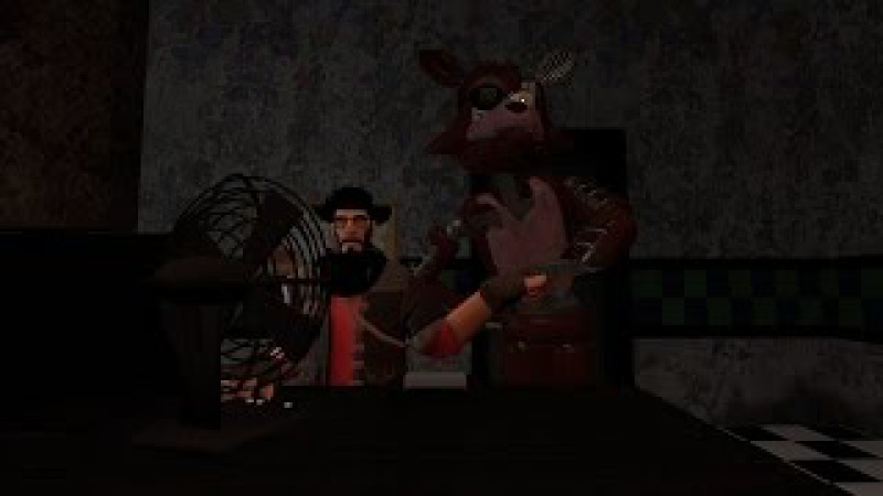 Friendly Foxy 2 | FNAF Gmod Animation