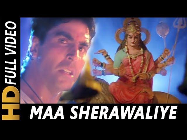Maa Sherawaliye Tera Sher Aa Gaya| Sonu Nigam| Khiladiyon Ka Khiladi 1996 Songs| Akshay Kumar