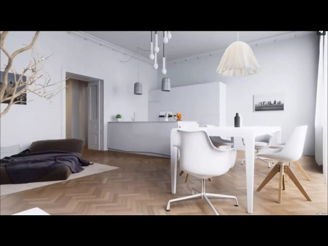 Real-Time Archviz in Unreal Engine (Realistic 3D Interior VR): London Apartment - UE4Arch