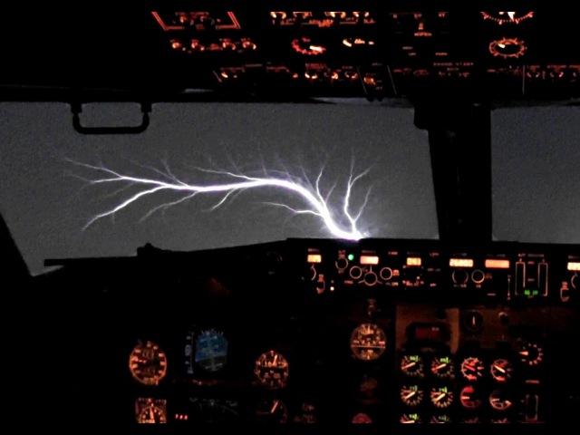 737 Jumpseat Takeoff St. Elmo's Fire