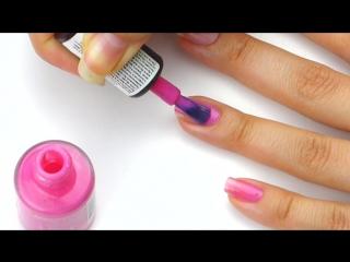 Как научиться аккуратно красить ногти - Техника нанесения лака - Маникюр в домашних условиях