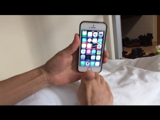 Жесткий прикол Когда_друг_хитрее, как нужно ставить блокировка айфон 5 S 6 S
