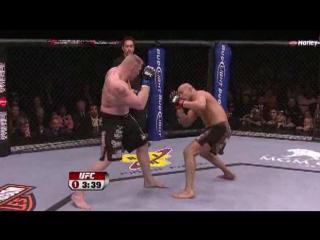Брок Леснар - Рэнди Кутюр     Randy Couture vs Brock Lesnar