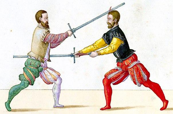 фехтовальщики