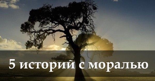5 лучших историй с моралью!