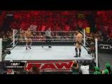 (WWEWM) WWE RAW 16.07.2012 - Daniel Bryan &amp AJ vs. The Miz &amp Eve Torres