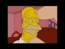 Симпсоны (задница пса) прикол, ржач