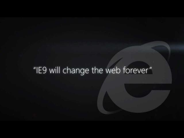 A more beautiful web is... Internet Explorer TV commercial