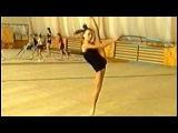 Художественная гимнастика. Обруч. Тренировка