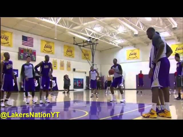 Los Angeles Lakers FULL workout practice watch how NBA teams really prepare for the season
