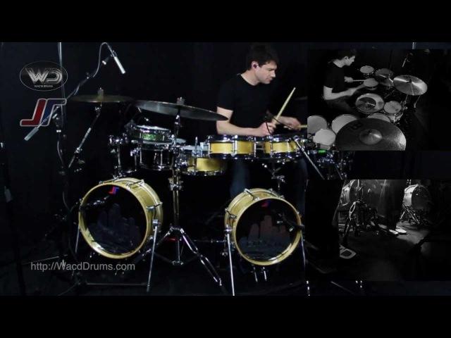Johnny Rabb - Wac'd Drums - Part 2 - Drumming (Full)