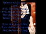 Sarah Connor - Believe me