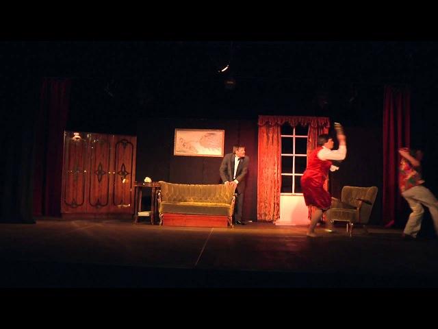 Театр-студия ''Синяя птица'' (Висагинас) - Комедия «Он, она, окно и тело»» по пьесе Рея Куни